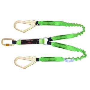Expandable Shock Absorber Twin Lanyards