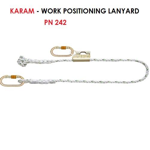 KARAM WORK POSITIONING LANYARD PN 242